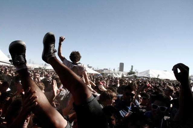 Crowd @ FYF Fest 2012 || Photo by Joey Serxner