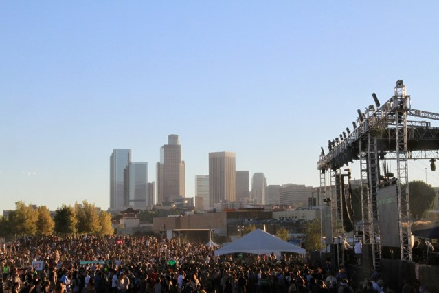 FYF Fest 2012    Photo by Joey Serxner