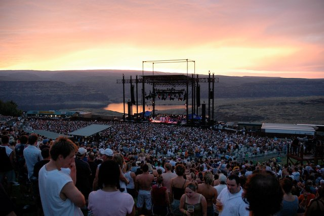 The future event site of JamBase Live? The Gorge in Quincy, Washington.