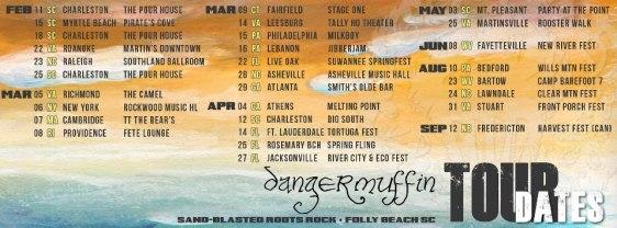 DM tour dates