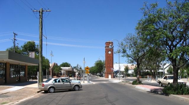 Town of Wee Waa, Australia. Photo from Wikipedia.com