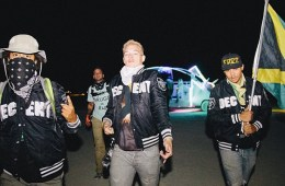 Diplo + Major Lazer crew @ Burning Man 2013