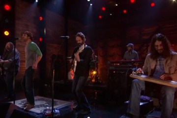 ▶ Hard Working Americans  Stomp and Holler  01 29 14   TeamCoco.com
