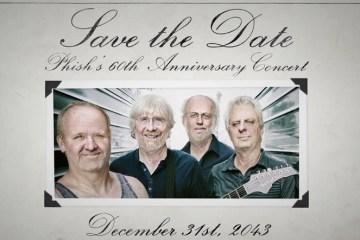 save the date phish 60th anniversary