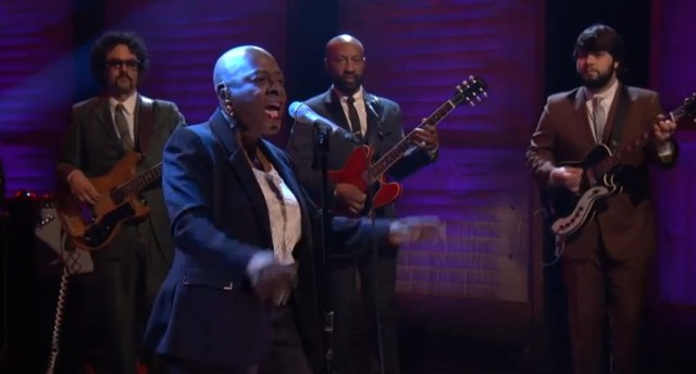 sharon jones on conan