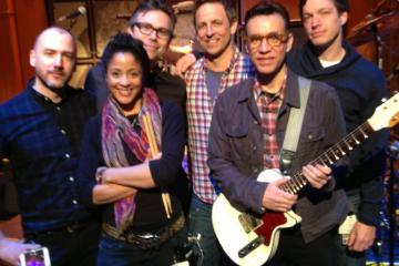fred armisen joins late night band