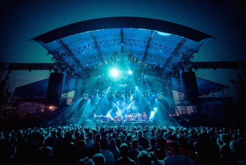 Phish @ Northerly Island, Chicago, IL 2014 | Photo by Sam Nicholls