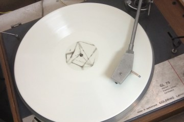 white vinyl on thom yorke tumblr