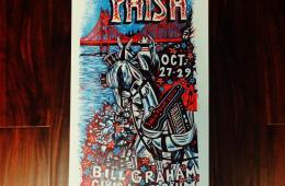 '14 Bill Graham Poster by Jim Pollock