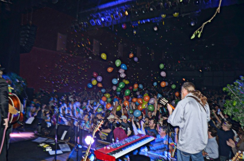 Railroad Earth New Year's Eve 2014 @ Variety Playhouse, Atlanta, GA    Photo © Wesley Hodges