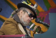 Dr. John @ Jazz Fest 2015 © Jim Brock