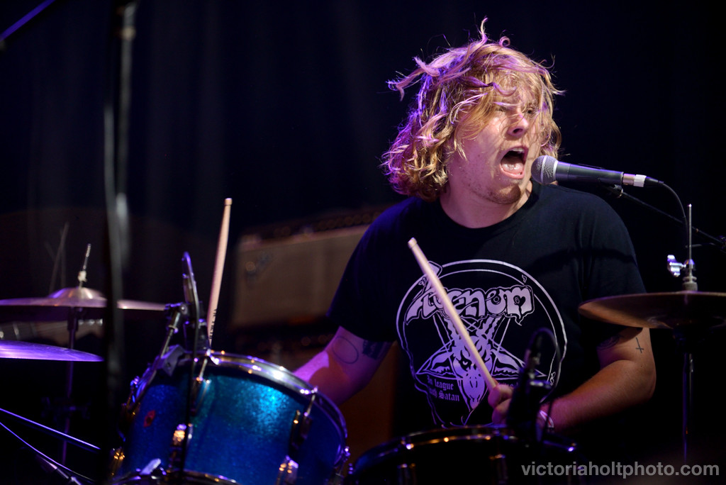 Fuzz performs on the Yeti Stage on May 23rd, 2015.