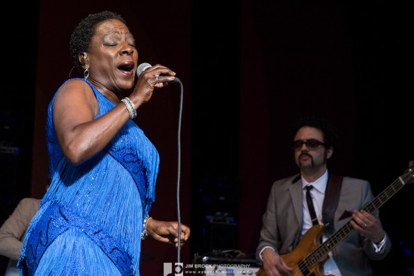 Sharon Jones & the Dap Kings @ Greek Theatre LA 6.10.15 © Jim Brock