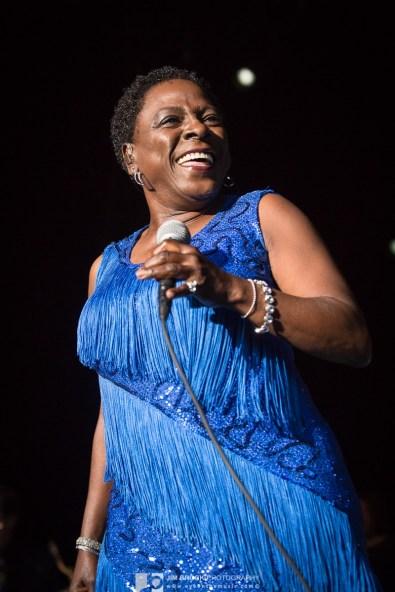 Sharon Jones & the Dap Kings @ Greek Theatre LA 6.10.15 © Jim Brock