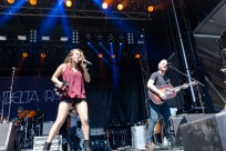 Delta Rae performing at LouFest in St. Louis on Sunday September 13, 2015.