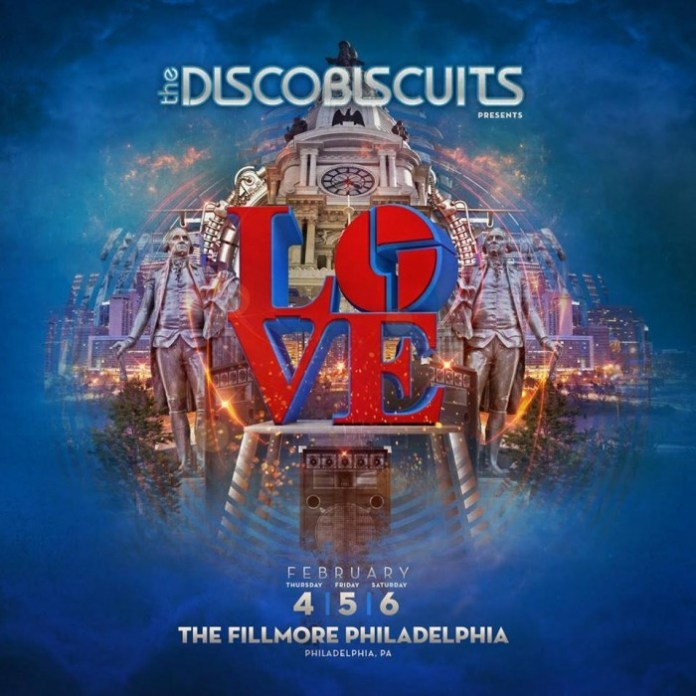 disco biscuits philly run 2016 poster