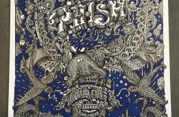 Phish NYE 2015-16 Run Poster by David Welker