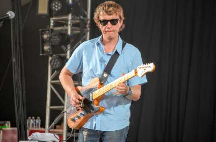 Steve Gunn at Bonnaroo 2016 // Photo by Wesley Hodges