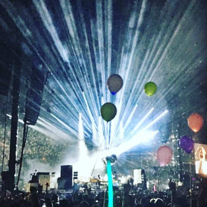 LCD Soundsystem at Bonnaroo 2016 // Photo by Wesley Hodges