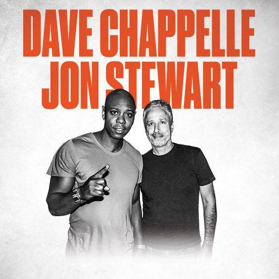 dave chappelle john stewart announce red rocks august 2019 gig