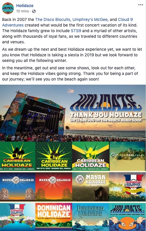 holidaze-announces-they-re-taking-a-siesta-in-2019
