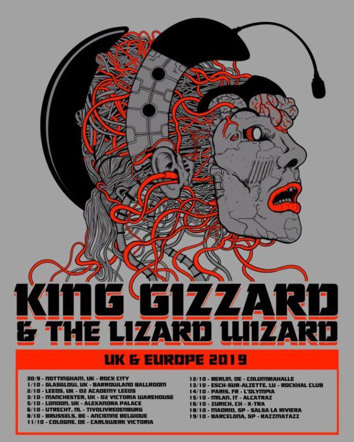 king gizzard uk europe 2019 tour dates