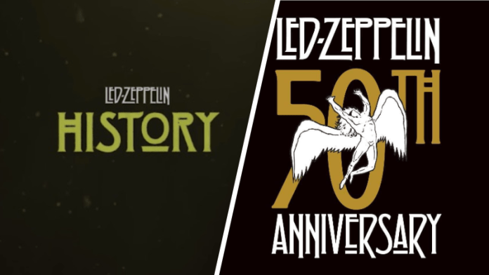 led zeppelin history 50th anniversary