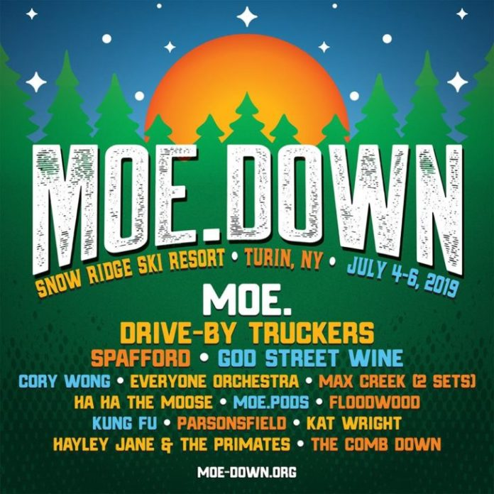 moe down 2019 lineup announced