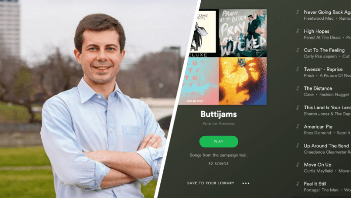 pete buttigieg releases campaign playlist featuring phish fleetwood mac carly rae buttijams