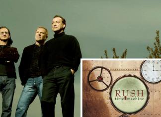rush time machine on vinyl