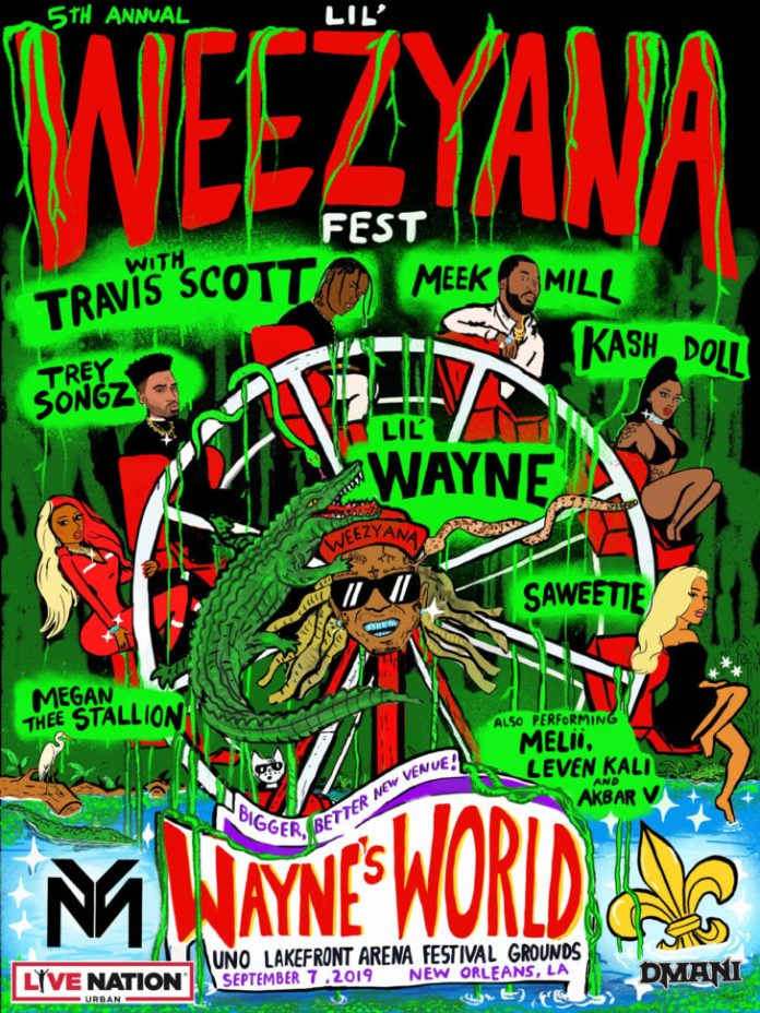 Lil Weezyana 2019 poster new orleans september 7 2019 live music blog