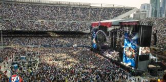 fare thee well grateful dead 50th anniversary chad smith