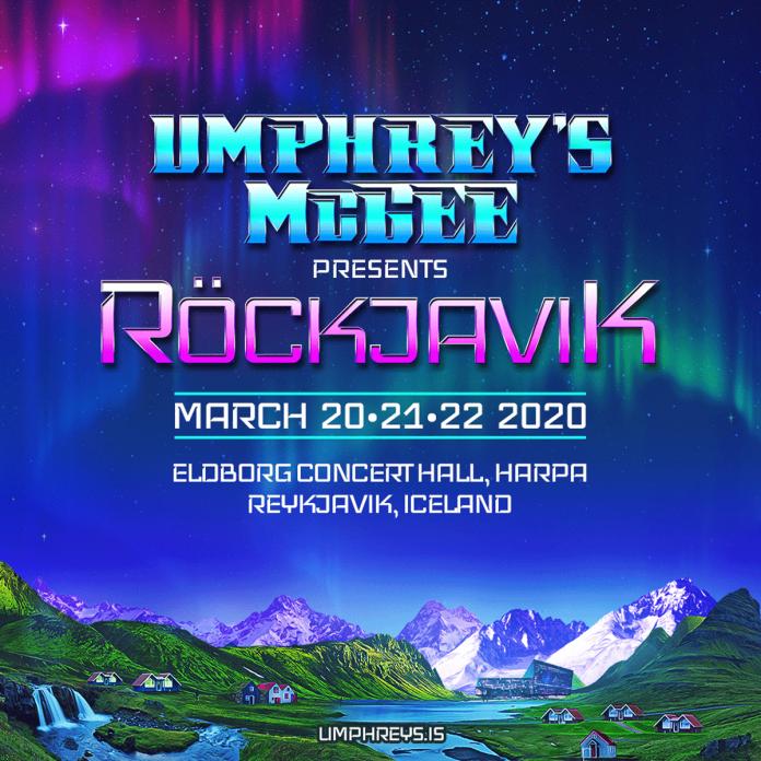 umphreys mcgee Röckjavik iceland event 2020 announced
