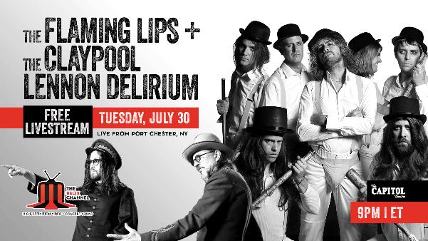 claypool lennon delirium free livestream tuesday july 30 relix