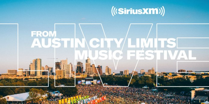 austin city limits music festival webcast livestream siriusxm