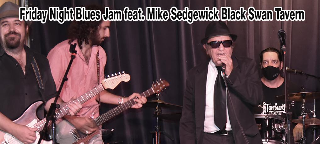 Friday Night Blues Jam feat. Mike Sedgewick Black Swan Tavern