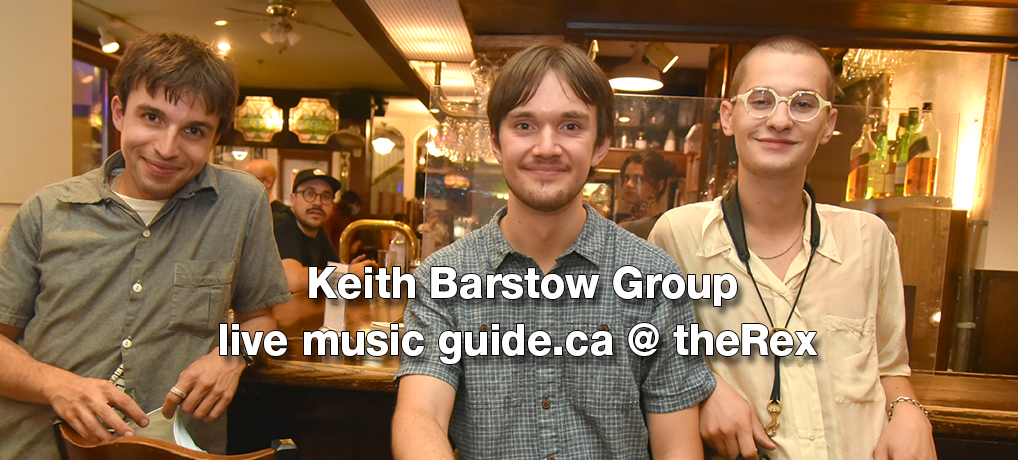 Late Nights at The Rex: Keith Barstow Group