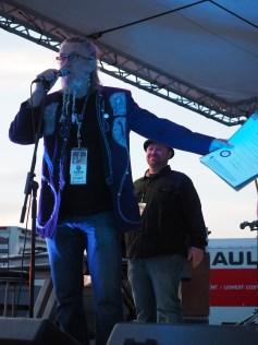Ron Whitehead at GonzoFest
