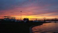 Ohio River sunset - Forecastle 2016