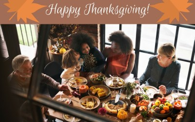 Give Thankfs for Family, Friends and Finances