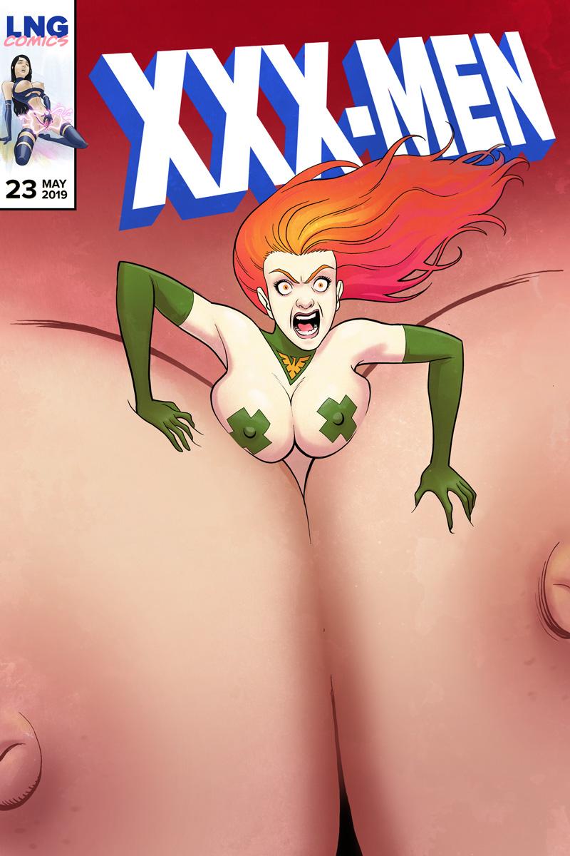 XXX-Men – A Big Tittied Teaser
