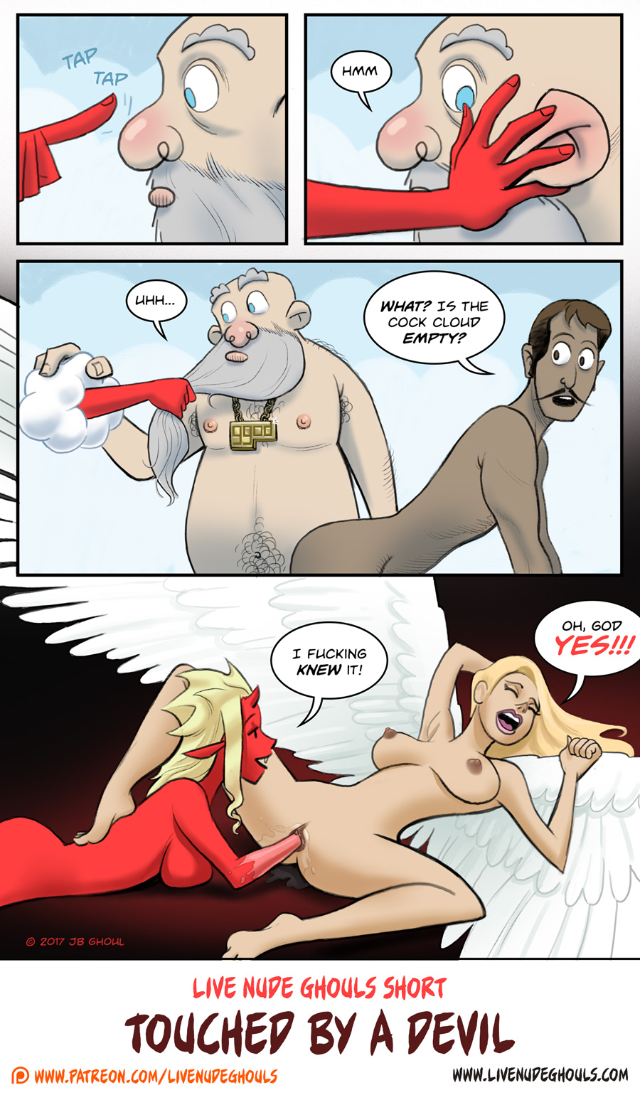 Devil girl Dorothy fists an angel and finds more than a good time.