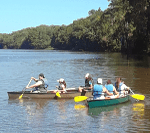 Canoes On Tensaw River