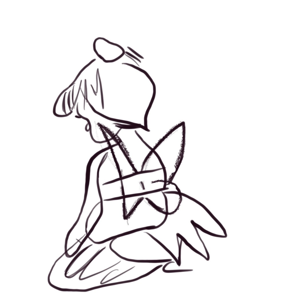Tinker Bell drawing