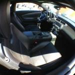 Interior of 2013 Camaro at Pismo Beach Car Show