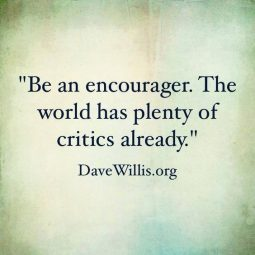 be the encourager