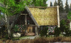 Kuinka rakentaa talon Skyrimissä