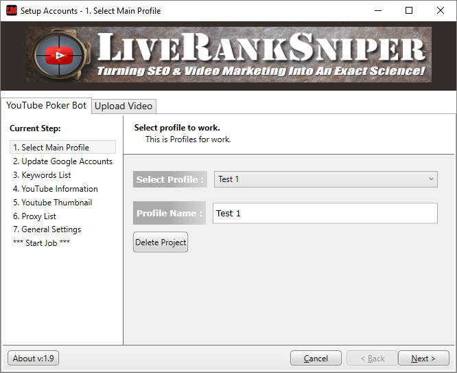 Live Rank Sniper Demo