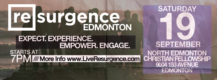 Resurgence Edmonton September 19 2015
