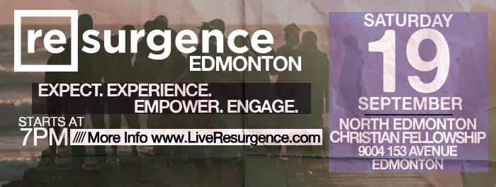 Resurgence Edmonton September 19 2015